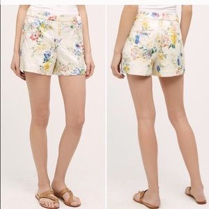 Anthropologie Shorts - Anthropologie elevenses catalonia floral shorts